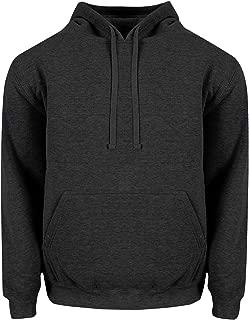 Mens Heavy Weight Fleece Pullover Hoodie Sweatshirt