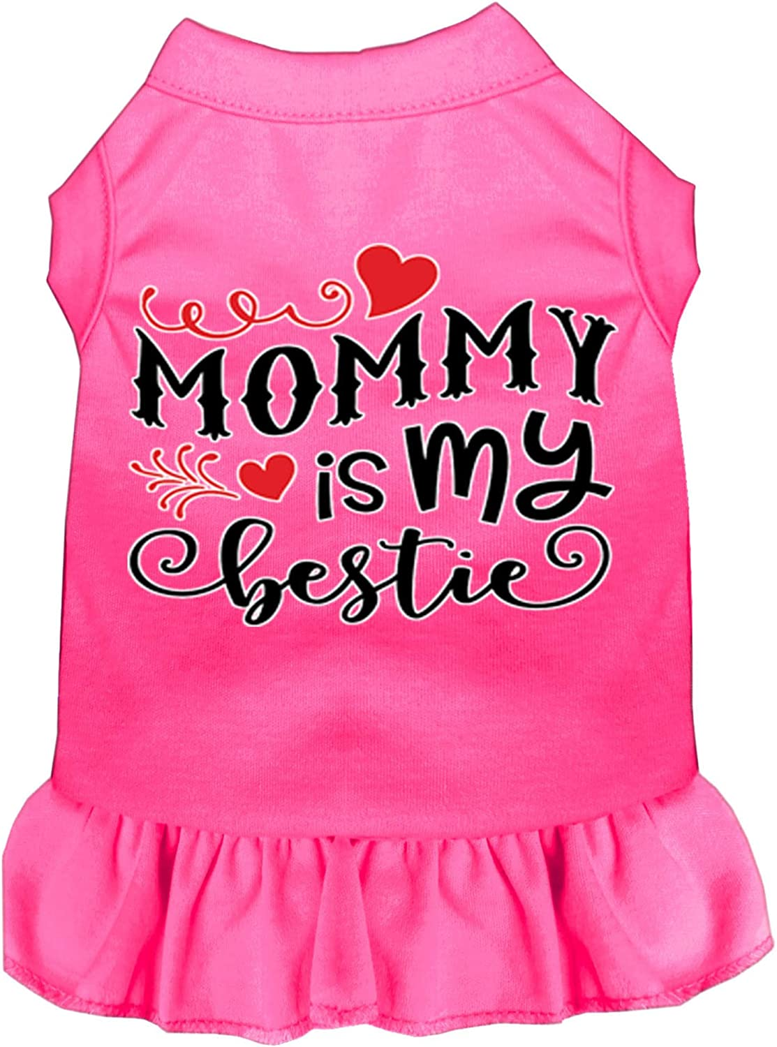 National Large discharge sale uniform free shipping Mirage Pet Product Mommy is My Print Bestie Bri Dog Screen Dress