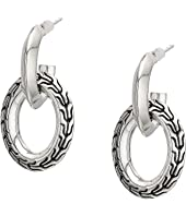 John Hardy - Classic Chain Knife Edge Drop Earrings