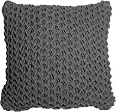 j.elliot HOME Zara New Knitted Cushion, Charcoal