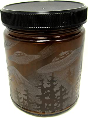 Darice Glass Mason Jar Blue 16 Ounces 3.15 X 3.15 X 5.51 Inches