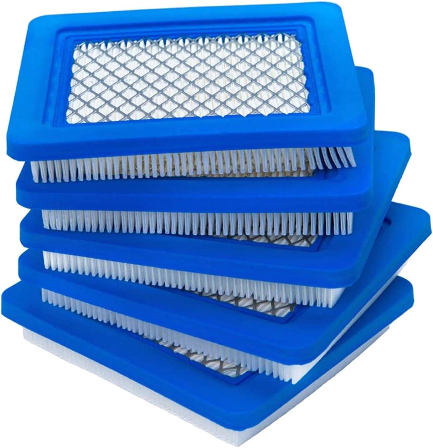 DROHOO 5 Piezas compatibles con Briggs y Stratton 491588, Toro 20332, cortacésped Craftsman, Azul