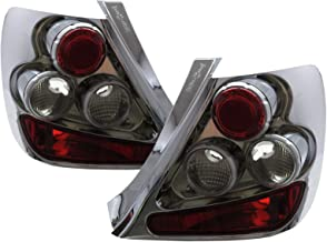 CABI EP3 Civic SI Type-R 2001 2005 Seventh generation - Hatchback 3D Clear Tail Rear Light Chrome V1 for HONDA