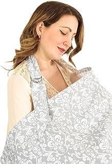 Breastfeeding Cover up, Baby Breastfeeding Apron & Wide Privacy Feeding Hider