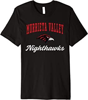 Murrieta Valley High School Nighthawks Premium T-Shirt C3