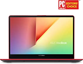 "Asus Vivobook S15 Slim and Portable Laptop, 15.6"" Full HD NanoEdge Bezel, Intel Core I5-8265U Processor, 8GB DDR4, 256GB SSD, Windows 10 - S530FA-DB51-RD, Starry Grey with Red Trim"