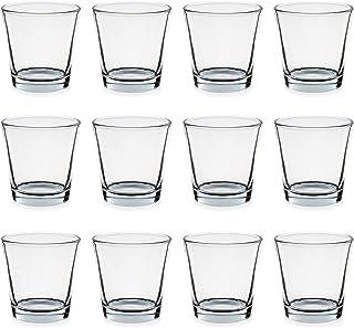 09565B Teelichtglas Pajoma Trichterform, 7,5 x 5,5 x 7,5 cm