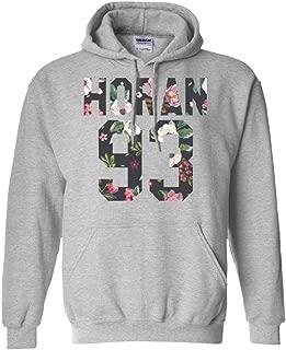 Exclusive Horan Hoodie, 1993 Birthday Year, Perfect Niall 93 World Tour Gift, Flower Art Hooded Sweatshirt, Adult Unisex Pullover