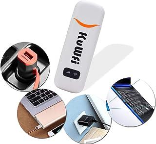 Dongle déverrouillé 3G / 4G WiFi LTE, dongle de voiture portable USB 4G de 150Mbps avec prise en charge de logement de car...