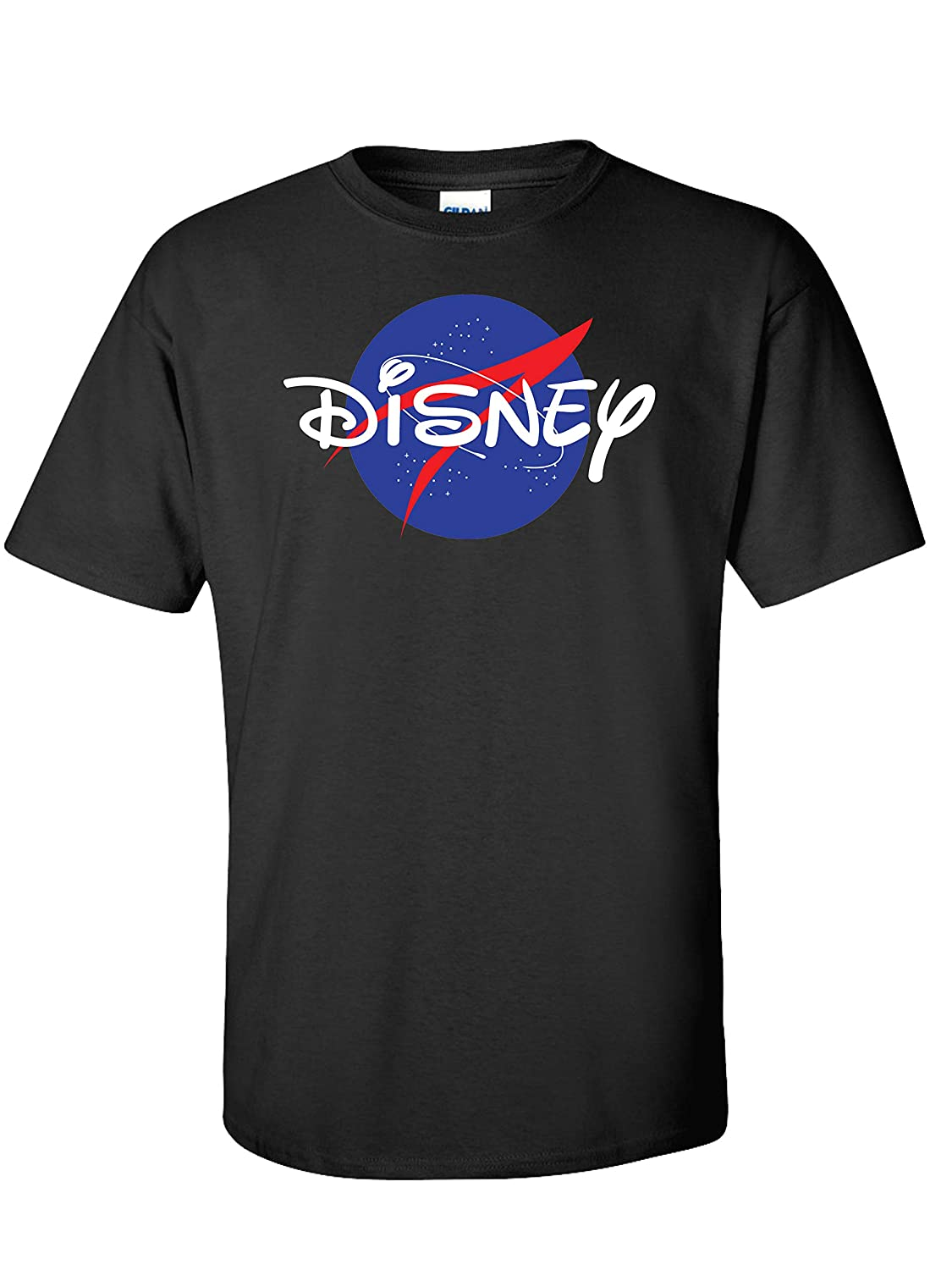 Free shipping on posting reviews One Max 81% OFF of a Kind Disney Cross Over Logo NASA - Background with Yout