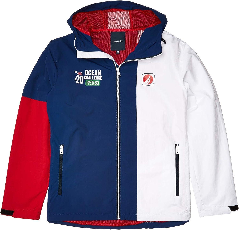 Nautica Men's Big & Tall Lightweight Colorblock Jacket