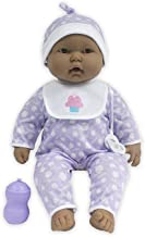 JC Toys 'Lots to Cuddle Babies' Hispanic 20-Inch Peach Soft Body Baby Doll and Accessories Designed by Berenguer