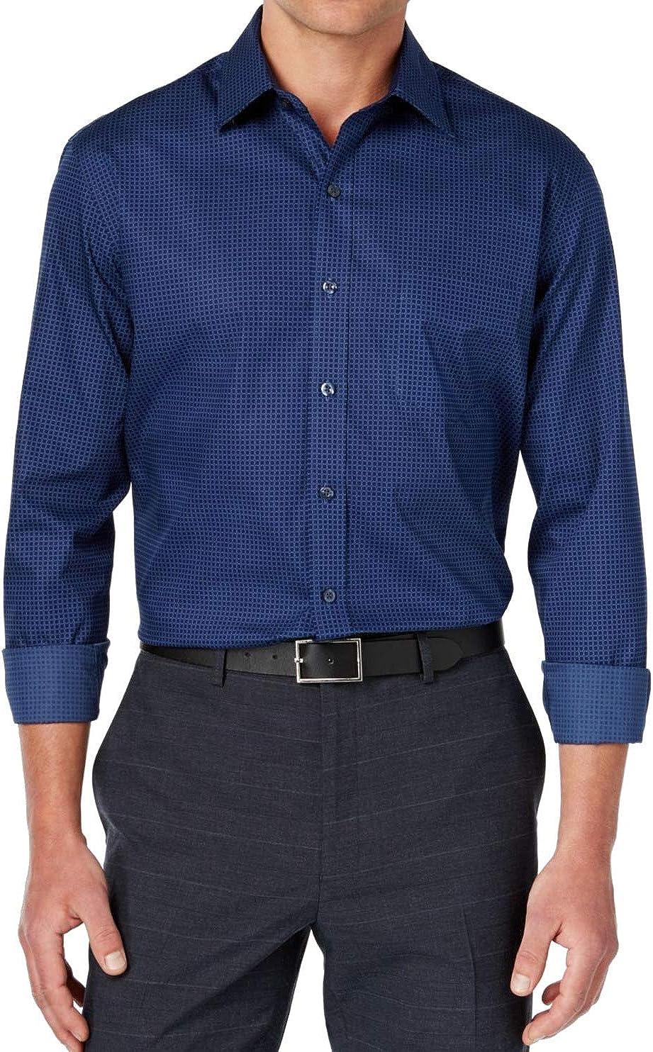 Tasso Elba Mens Foulard Button Up Shirt