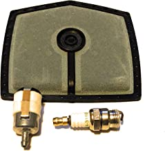 McCulloch 10-10, 10-10 Super, 55 700 555 Tune Up Kit Includes Air and Fuel Filter and Spark Plug Replaces McCulloch Part #69922 and 92420