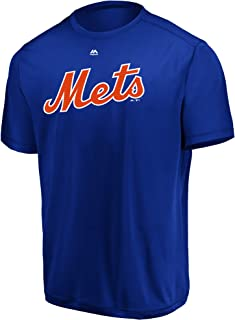 Majestic MLB Mets Adult Evolution Tee T-Shirt Size 2X-Large