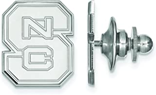 NC State Lapel Pin (Sterling Silver)
