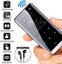 Aoile MP3 Player with Bluetooth 4.2, Portable Lossless Sound