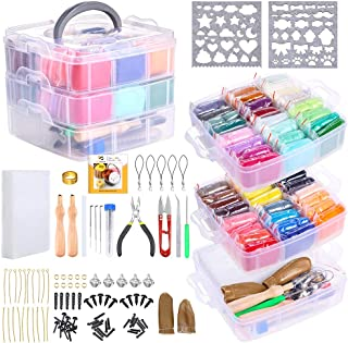 PP OPOUNT Needle Felting Kit, 48 Colors Wool Roving Fibre Yarn, Complete Needle Felting Starter Kit with Basic Felt Tools ...