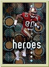 2000 SPx Highlight Heroes #HH7 Jerry Rice HOF SAN FRANCISCO 49ers