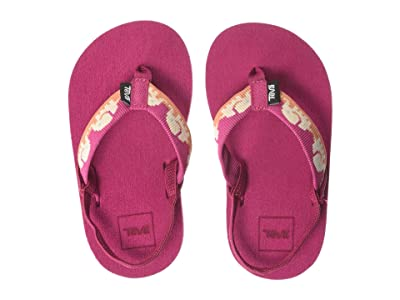 Teva Kids Mush II (Toddler) (Elephants Vivacious Pink) Girls Shoes