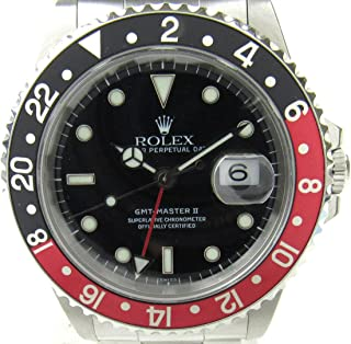 GMT Master II Mechanical (Automatic) Black Dial Mens Watch 16710 (Certified Pre-Owned)