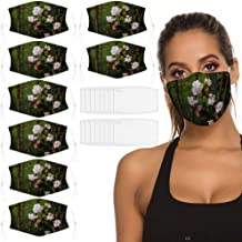 Viburnum Bodnantense / 8 PCS Reusable Breathable Earloop Dust Cover, Fashion, Fishing Cover, Sun Protection, Outdoor Cover...
