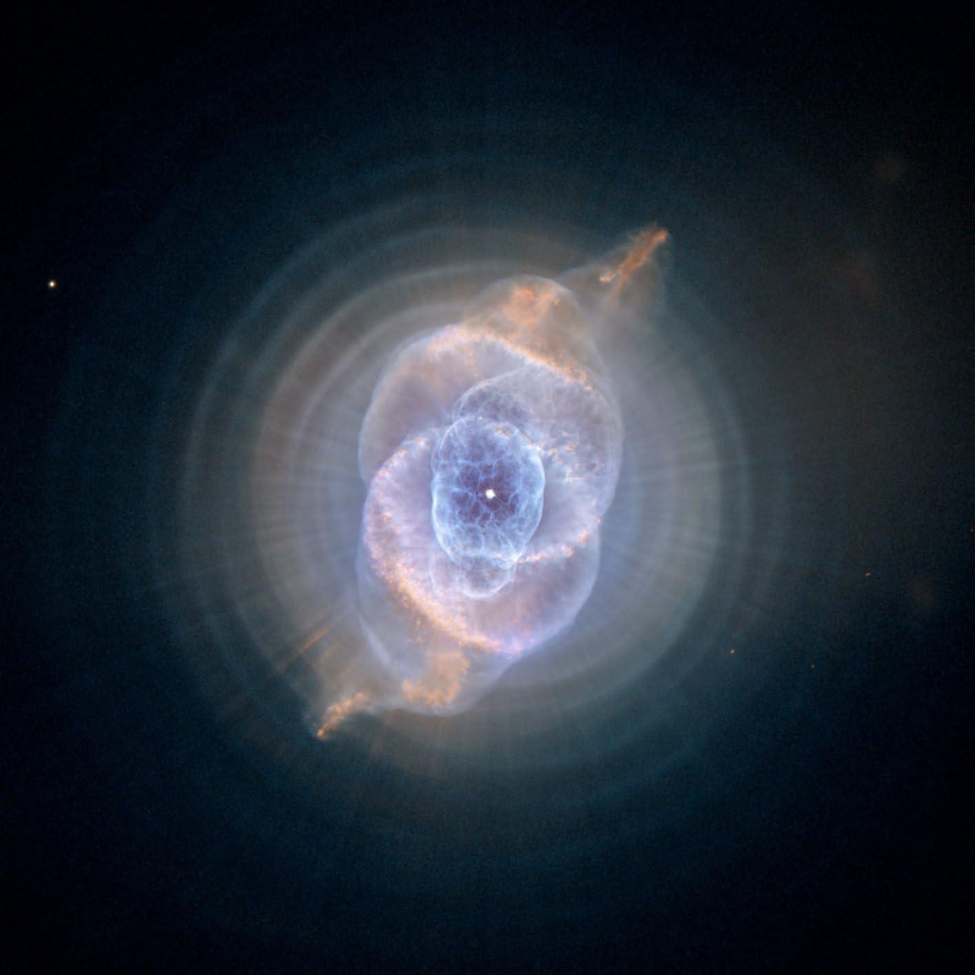 Hubble Space Superior Now free shipping Telescope The Cat's Eye 8x Photos NASA Photo Nebula