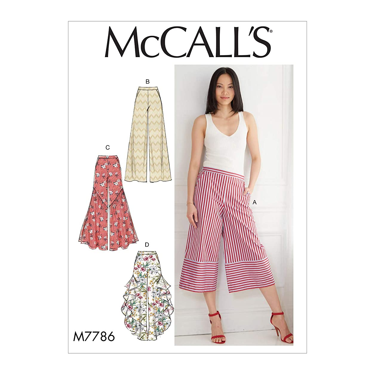 McCall's Patterns M7786 Sewing Pattern E5 (14-16-18-20-22) Multicolor wymazdclpybnhnke