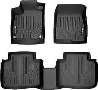 SMARTLINER Custom Fit Floor Mats 2 Row Liner Set Black for 2018-2021 Honda Accord