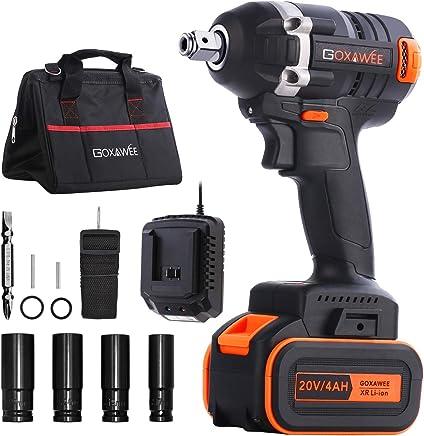 chargeur rapide Kit complet avec batterie VONROC VPower Outil multifonction 20 V 2,0 Ah accessoires et sac de rangement