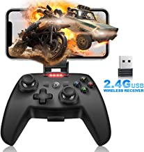 Mobile Matte Game Controller, Tonitrus Wireless Bluetooth Gamepad Joystick Game Controller for TPS Compatible VR iOS Android Mobile Phone PC Android TV Box and Pad