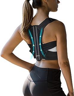 VANRORA Posture Corrector for Women and Men, Back Brace Fully Adjustable & Comfy, Support Straightener for Spine, Back, Ne...