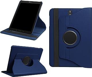 Lobworkfodral för Samsung Galaxy Tab S3 SM-T820 T820N SM-T825 T825N 9,7 tum skyddsskal smart fodral 360° vridbar + pekpenn...
