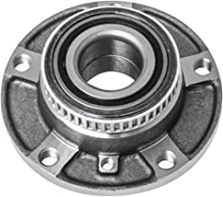 TUCAREST 513125 Front Wheel Bearing and Hub Assembly Compatible With 1992-2000 BMW Series E36 98-05 E46 91-95 E34 92-94 E32 [5 Lug]