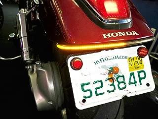 Fender Eliminator Integrated LED Taillight Kit for Honda VTX 1300 & 1800 Custom - Brake and Turn Signals - Clear Lens