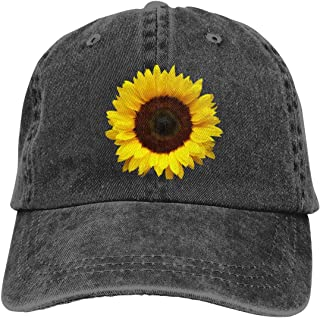 Classic Adjustable Baseball Cap Vintage Washed Trucker Hat Yellow Submarine