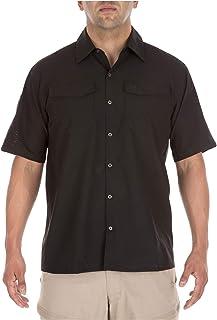 5.11 پیراهن آستین کوتاه Flex Flex مردان بافته شده