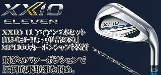 DUNLOP(ダンロップ) XXIO 11 ゼクシオ11 ゼクシオ イレブン アイアン 7本セット [番手I#6~PW+(単品2本)] MP1100 カーボンシャフト メンズゴルフクラブ 右利き用 ネイビー