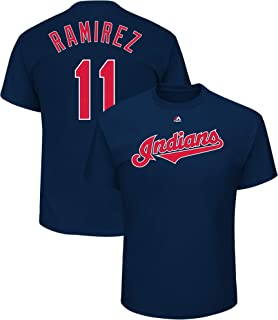 Outerstuff Jose Ramirez Cleveland Indians #11 Youth Player Name & Number T-Shirt Navy