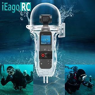 iEago RC OSMO ACTIE Draagtas Hard Shell Waterdichte Tas DIY Zone Schoudertas voor DJI OSMO Action Camera Accessoires, Waterproof Case