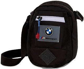 حقيبة كتف صغيرة محمولة صغيرة من PUMA x BMW M Motorsport (أسود)