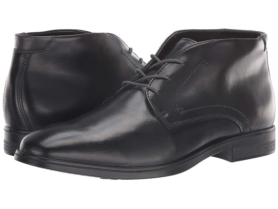 ECCO Melbourne Boot (Black/Magnet) Men