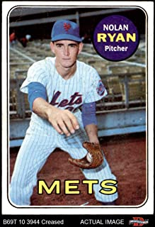 1969 Topps # 533 Nolan Ryan New York Mets (Baseball Card) Dean's Cards 3 - VG Mets