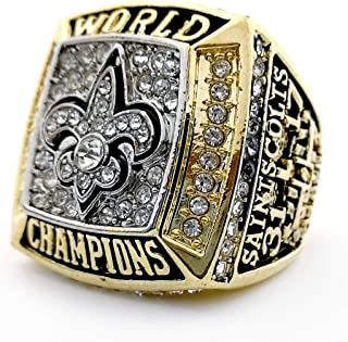 saints championship ring
