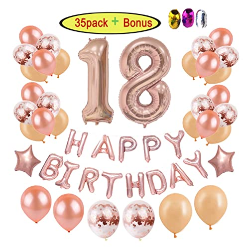 18th Birthday Party Decorations Supplies Kits For Girls Women Adults