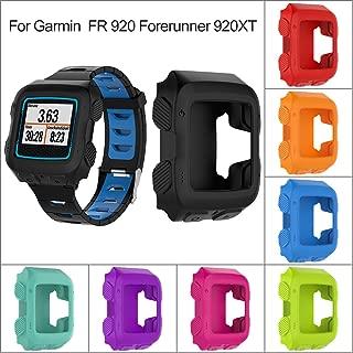Classicbuy ウォッチ保護カバー 腕時計カバー 全面保護ケース 高級シリコン製 塵傷防止 耐衝撃性 男女兼用 Garmin FR 920 Forerunner 920XT GPSスポーツウォッチに最適 (時計なし)