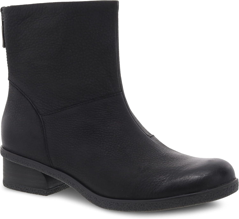 Dansko Women's Brianne Waterproof Boot - Inside Zip, Memory Foam Footbed