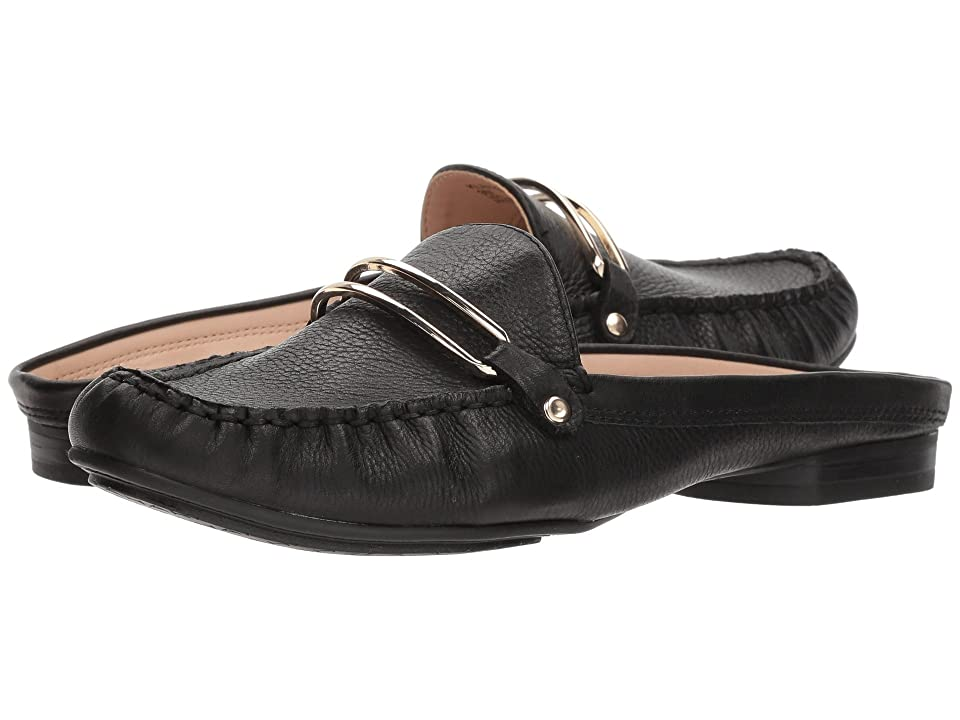 Tahari Klinton (Black Soft Leather) Women