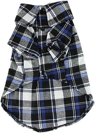 POP VIEW Bohai cute Pet Dog cucciolo vestiti camicia taglia XS/S/M/L Blu colore rosso