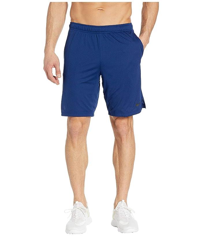 Nike Monster Mesh Shorts 4.0 (Blue Void/Black) Men